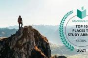 2021年全球最佳留学国家排行榜来了!